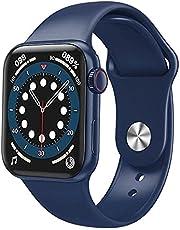 ساعة ذكية - شاحن لاسلكي - HW22 برو ساعة ذكية بشاشة كاملة 44 مم للرجال والنساء شاشة ذكية مشقوقة بلوتوث HD كول بلاي ميوزيك معصم رياضي