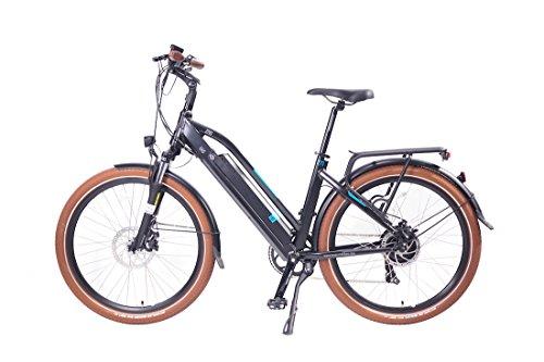 Magnum UI5 Electric Bicycle Electric Hybrid City Bike,Electric Commuter Bike, MATTE BLACK 350w