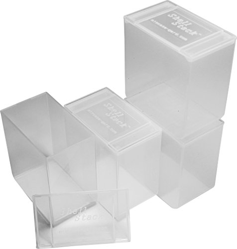 MTM SS25-00 Shell Stack 25 Rd. Compact Shotshell Storage Box (Set of 4)