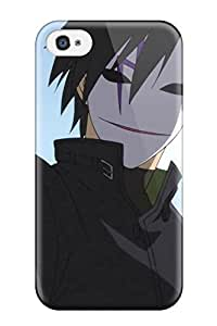 TYH - Fashionable Style Case Cover Skin For Iphone 4/4s- Hei Darker Than Black phone case