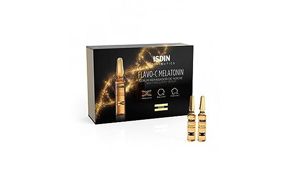 Amazon.com: Isdinceutics Flavo-C Melatonin Ampollas 30 X 2 Ml: Beauty