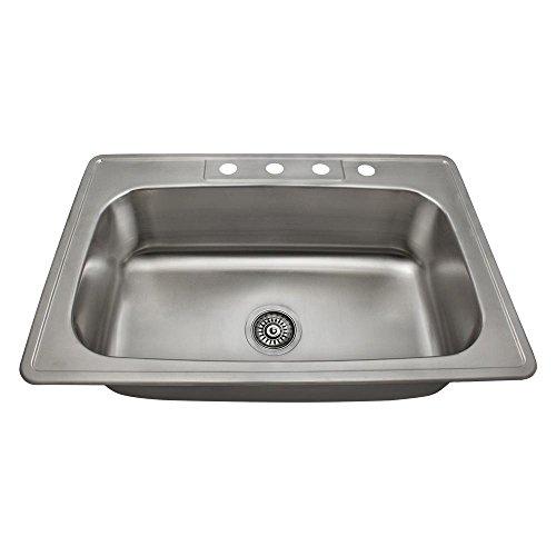 mr-direct-us1030t-20-gauge-topmount-single-bowl-stainless-steel-kitchen-sink