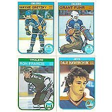 1982 / 1983 O-Pee-Chee Hockey Complete Near Mint Hand Collated 396 Card Set. Loaded with Stars Including Wayne Gretzky's 4th Year Card Plus 7 Other Gretzkys, Ray Bourque, Paul Coffey, Denis Savard, Jari Kurri, Mark Messier, Peter Statsny, Mike Gartner and