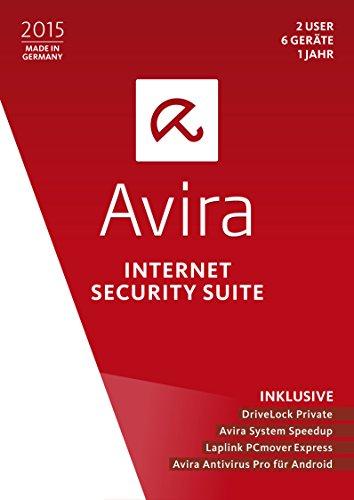 Avira Internet Security Suite 2015 - 2 User / 6 Geräte / 1 Jahr