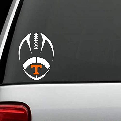 (Yilooom A1153 Tennessee Volunteers UT Vols Football for Car Truck SUV Van Window Wall)