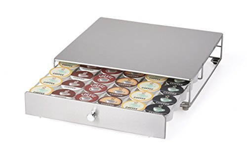 - NIFTY 6498 Keurig Brewed Stainless Steel K-Cup Rolling Drawer, Metallic