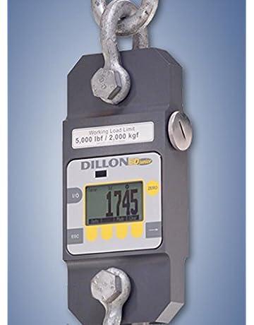 EDjr-2T EDjunior Dillon Dynamometer with Anchor Shackles, Cap. 5,000 lbf / 2,000