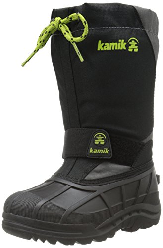 Kamik Boot Kid little Kid Anthracite toddler big Reddeer4 xgwfrOxT