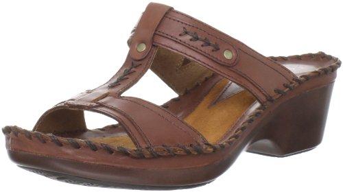Ariat Women's Largo T-Strap Sandal,Burnished Brown,7.5 M US