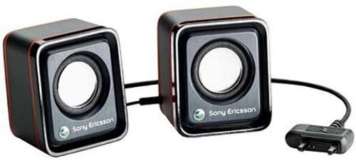 Sony Ericsson DPY901658 Portable Speakers for Sony Ericsson MPS-70 - Original OEM - Retail Packaging - (Sony Ericsson Dock)