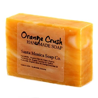Santa Monica Soap Co. Handmade Soap - Orange Crush