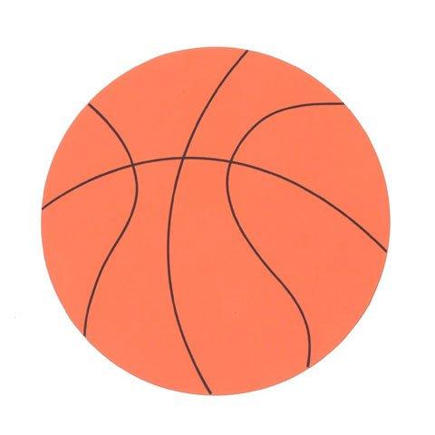 Set of 20 Large Foam Basketball Shapes ()