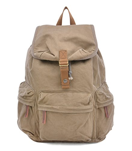 Gootium-Unisex-Vintage-Canvas-Backpack-Rucksack-Hiking-Travel-School-Bags