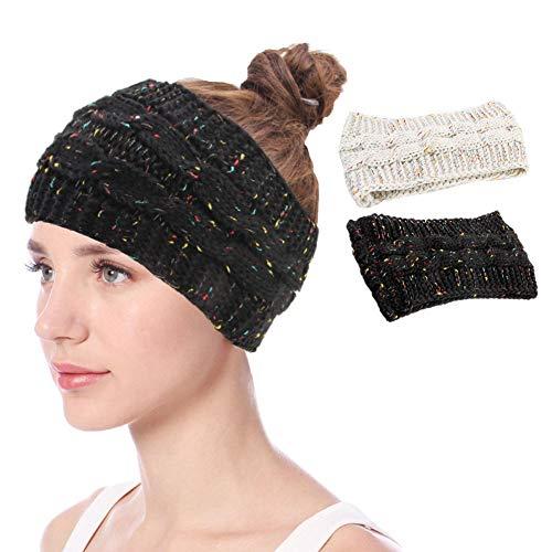 Winter Knitted Headband Crochet Twist Hairband Turban Ear Warmer Head Wraps
