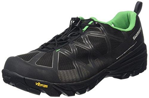 Shimano Erwachsene MTB Schuhe SPD SH MT 54 Schwarz/Grau