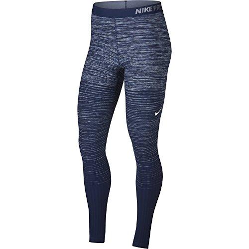 Nike Pro Hyperwarm Tights Womens Pant Size Medium Fitness/Workout Glacier Grey/White