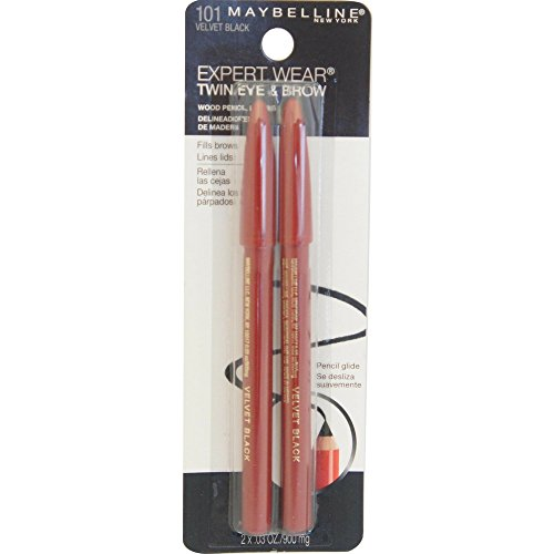 Maybelline Makeup Expert Wear Twin Eyebrow Pencils and Eyeli