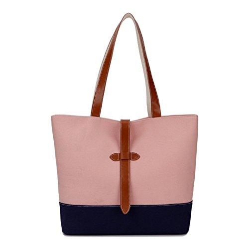 HNYEVE HB1200081C2 2016 Canvas Korean Style Women's Handbag,Square Cross-Section Tote