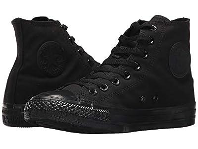 Converse BLAC KMONO-M3310-HI-TOP Size 6.5 M US Women / 4.5 M US Men Monochrome Black