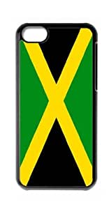 HeartCase Hard Case for Apple iPhone 5C(The national flag of Jamaica )