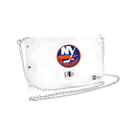 NHL New York Islanders Clear Envelope Purse