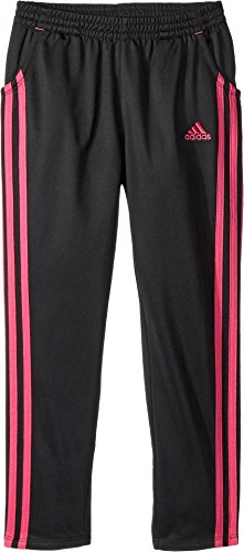 adidas Girls' Little Trainer Pant, Black ark, 6X (Childrens Girls Trainers)
