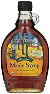 Coombs Family Farms Grade B Organic Maple Syrup-12 oz