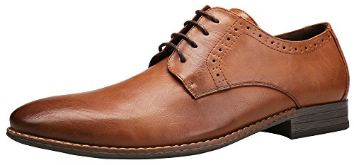 SHENBO Simple Classic Men Oxfords Shoes