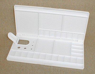 Plastic Folding Watercolor Palette Box