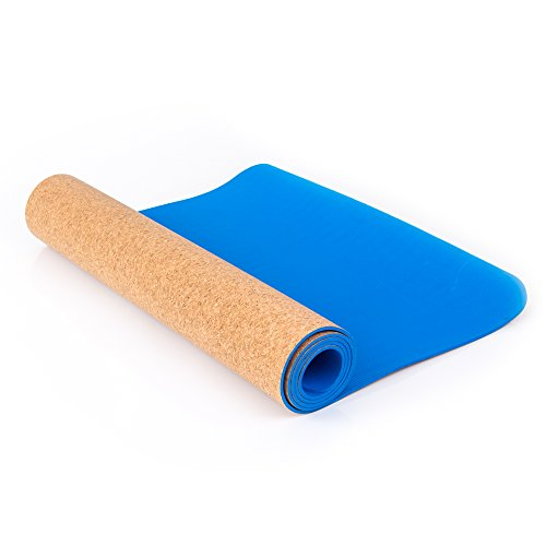 Blissful Living Eco Friendly Cork Yoga Mat 72 x 24 x 5 MM Thick – Anti-Slip and Extra Thick to Protect your Knees Review
