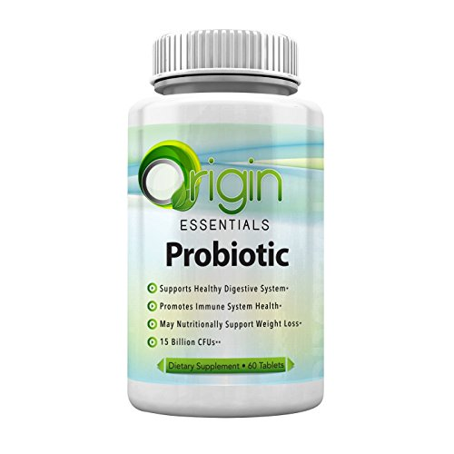 Origin Essentials Probiotics Supplement to Improve IBS and Colon Health, 60 Tablets