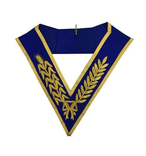 Masonic Regalia - Craft Regalia Grand Rank Full Dress Hand Embroided Collar MA506