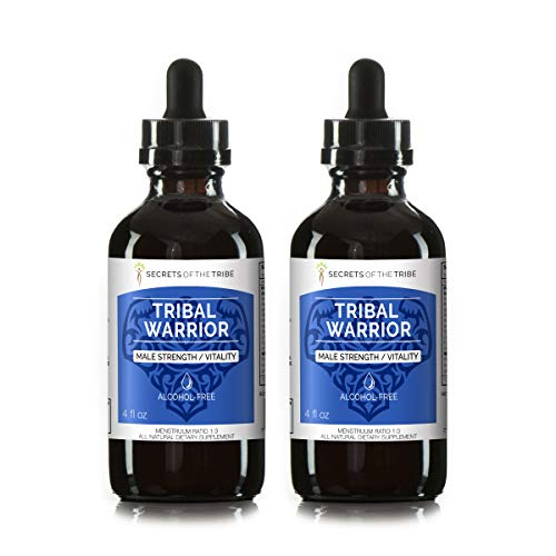 Ginseng Chinese Red Alcohol (Male Fortitude Tincture Alcohol-FREE Extract(Organic: American Ginseng, Oatstraw, Black Cohosh, Ginkgo Biloba, Saw Palmetto. Wildcrafted: Chinese Boxthorn, Notoginseng, Korean Red Ginseng) (2x4 FL OZ))