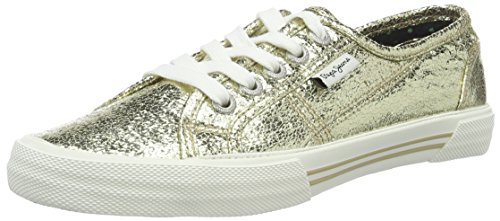 mujeres Aberlady Pepe Jeans 099gold O para Entrenadores Crackle BqXqw