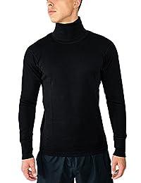 Woolx Prescott - Men's Merino Wool Turtleneck - Midweight Wool Base Layer Shirt