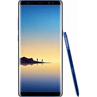 Samsung Galaxy Note 8, 64GB, Deepsea Blue - For AT&T (Renewed)