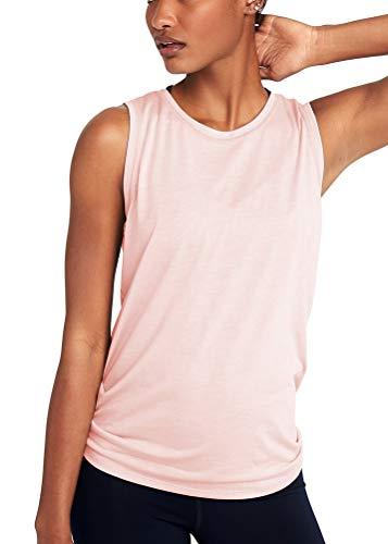 7441a52dbc Mippo Women's Cute Yoga Workout Mesh Shirts Activewear Sexy Open Back  Sports Tank Tops