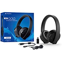 Deals on Sony PlayStation Gold Wireless Headset 7.1  PS4