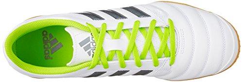 adidas AQ4145, Botas de Fútbol Hombre Multicolor (Blanco / Plata / Lima (Ftwbla / Nocmét / Seliso))