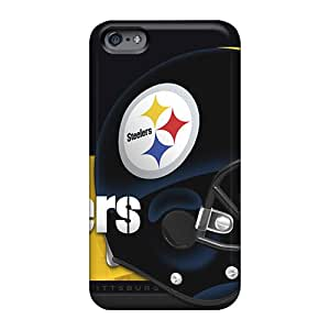 AlissaDubois Apple Iphone 6 Plus Protective Hard Cell-phone Cases Allow Personal Design Colorful Pittsburgh Steelers Skin [Ler21932JPPR]