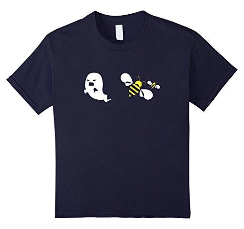 Terrifying Halloween Costumes Ideas (Kids Boo - Bees - Funny Halloween Costume - Halloween Shirt 12 Navy)