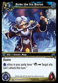 World of Warcraft TCG - Roke the Ice Baron (SoB-153) - Servants of the Betrayer