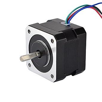 Amazon.com: Motor de pasos Nema 1726Ncm, de 36.8 ...