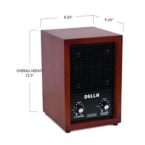 Ozone Ionic Air Purifier : Della ionic air purifier ozone ionizer cleaner fresh clean