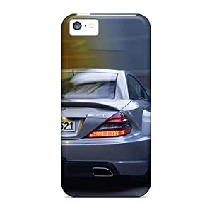 Shock-Absorbing Hard Phone Covers For Iphone 5c With Custom Vivid Amg Skin LavernaCooney