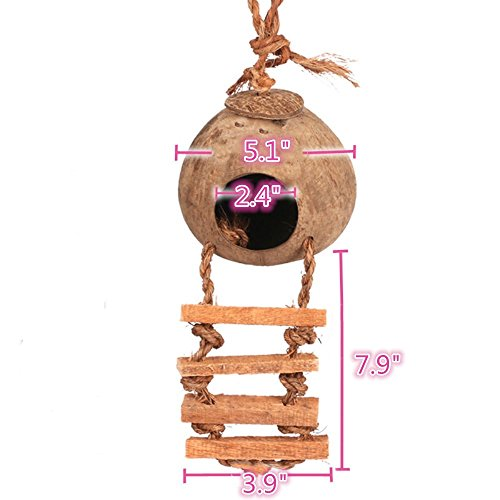 Bird-cage-Natural-Cage-Toy-for-Pet-Bird-Natural-Coconut-Fiber-for-Bird-NestPack-of-2