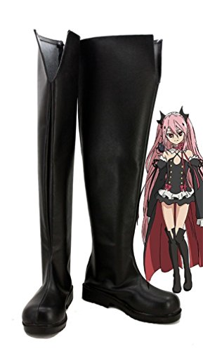 Stiefeletten of the Schuhe Stiefel Tepes Seraph Cosplay Anime End Bromeo Krul nPRv1xE