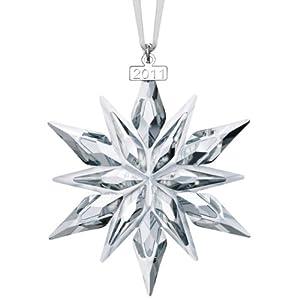 Amazoncom Swarovski 2011 Annual Edition Crystal Snowflake