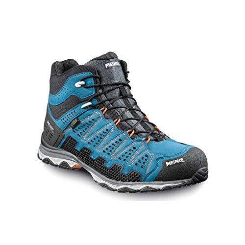Meindl Zapatos X de So 70 MID GTX Surround Men – Azul/Naranja 42 2/3