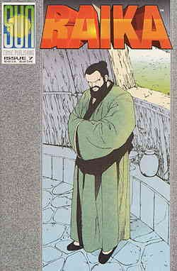 Raika #7 VF/NM ; Sun comic book